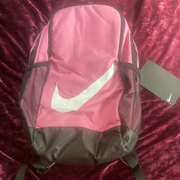 SOLD ON FB MARKET NWT Cute Pink & Black Nike Backpack